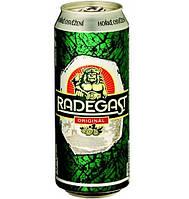 Пиво Radegast original ж/б 0,5 ml Alk 4,0 % об.