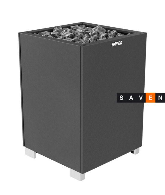 Электрическая печь (каменка)  Harvia Modulo MD135 черная (закрытые боковые части) для сауны и бани
