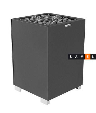 Электрическая печь (каменка)  Harvia Modulo MD135 черная (закрытые боковые части) для сауны и бани, фото 2
