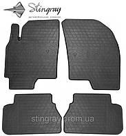 Комплект резиновых ковриков Stingray для автомобиля  Chevrolet Epica 2006-    4шт.