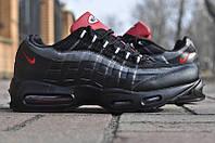 Кроссовки мужские Nike Air Max 95 Black Red
