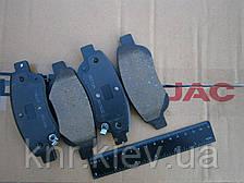 Колодки тормозные передний JAC J2