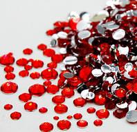 Стразы камни пластиковые для дизайна ногтей 100 шт.