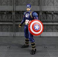 Коллекционная фигурка игрушка Капитан Америка Мстители Captain America Avengers: Age of Ultron