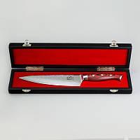 """Нож из дамасской стали 8"""" футляр в подарок!"""