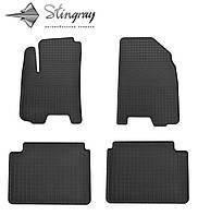 Комплект резиновых ковриков Stingray для автомобиля  Chevrolet Lacetti 2004-    4шт.