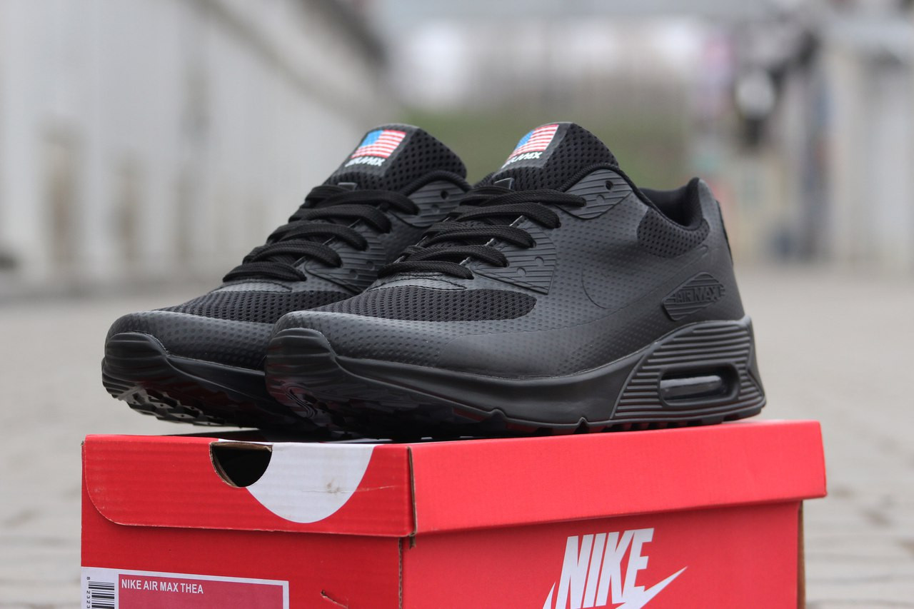 6b88a2ddaa60 Мужские кроссовки NIKE AIR MAX Hyperfuse,черные - Интернет-магазин Дом  Обуви в Хмельницком