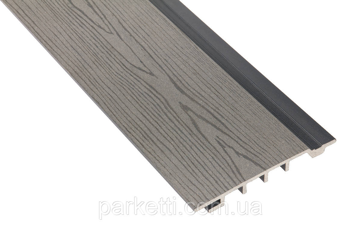 Сайдинг Polymer & Wood Дуб серый - Parketti - паркет, паркетная доска, массив, ламинат, линолеум, ковролин, террасная доска в Украине в Харькове