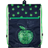 Молодёжная сумка для обуви Kite, с карманом, 601 Junior-12