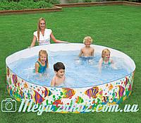 Детский каркасный бассейн Intex 56453 солнечные рыбки: 244х46см
