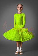 Рейтинговое платье для бальных танцев (бейсик) 830 р. 28 - р. 36