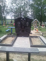 Памятник из гранита двойной Д-015