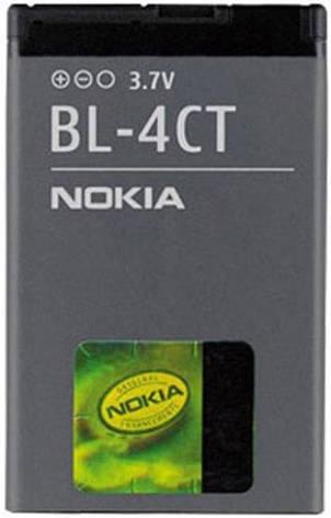 Аккумулятор Nokia BL-4CT оригинальный, фото 2