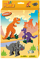 Термомозаика Hama - Набор Динозавры midi (3434), фото 1