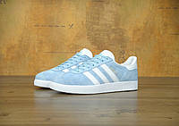 Женские  кроссовки Adidas Gazelle Blue
