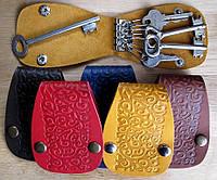 Чехол Блокнот для ключей кожаный Восток