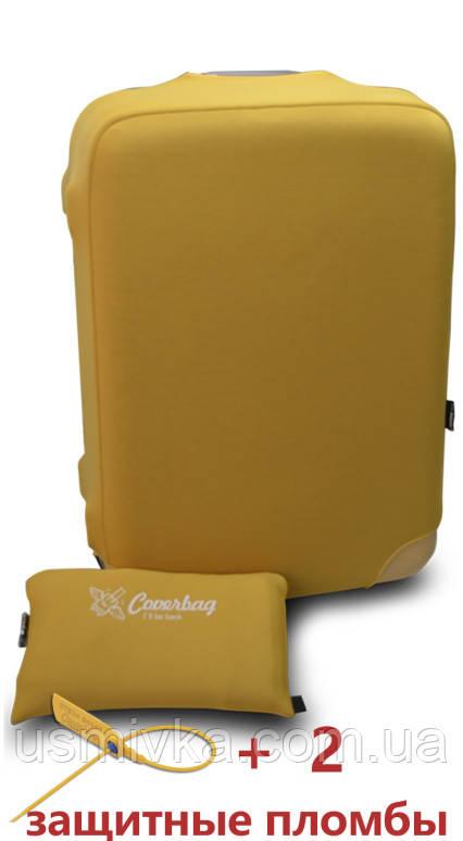 Текстильный чехол из неопрена желтый M CT7082011