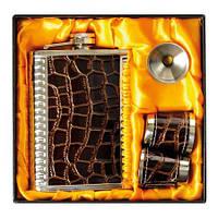 Набор сувенирный мужской Фляга RichMan (Арт. 11087)
