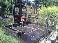 Гранитный памятник двойной Д-017