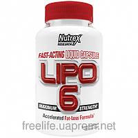 Жиросжигатели,Lipo-6 Maximum Strength (120 капсул)