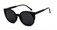 Женские круглые очки cat eye