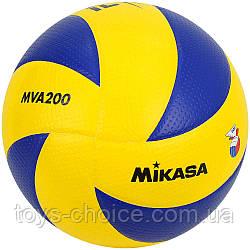 Мяч Волейбольный Mikasa Mva 200 Ps