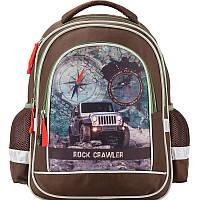 K17-509S-3 Рюкзак школьный 509 Rock crawler