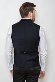 Пиджак без рукавов 2101 (Темно-синий)