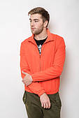 Куртка ветровка с сетчатой подкладкой 2206 (Оранжевый)