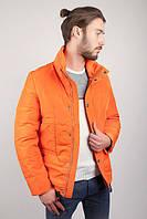 Куртка (пуховик) мужская теплая №225KF054 (Светло-оранжевый)