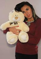 Абрикосовый плюшевый мишка Тедди 60 см