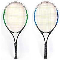 Большой теннис 080 1 ракетка, алюминиевый, 3 цвета (7)
