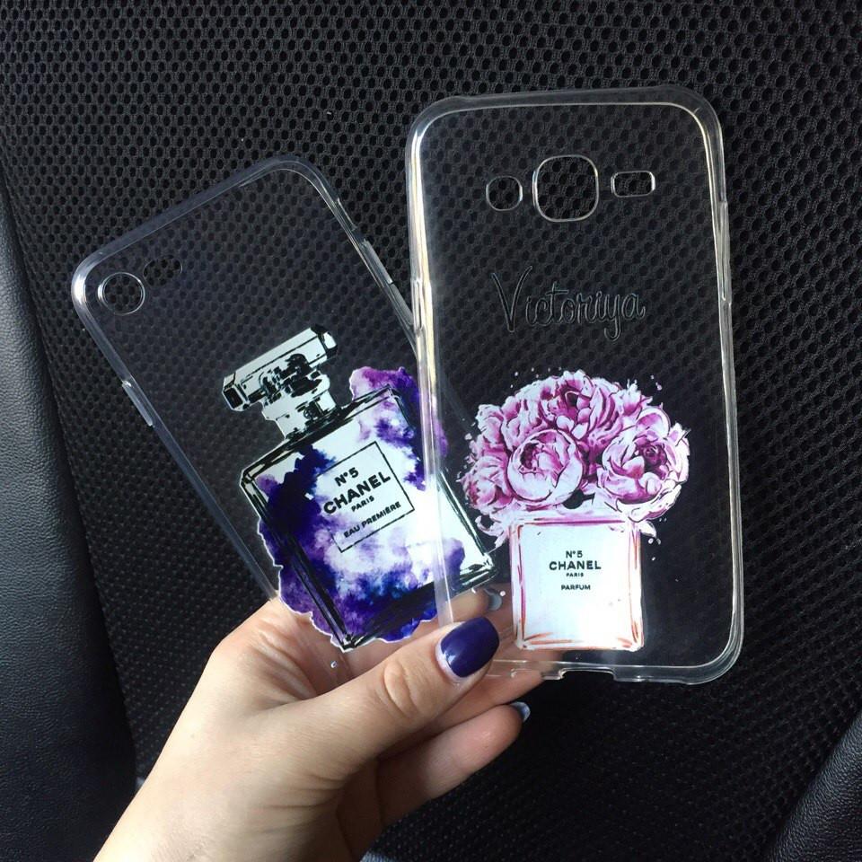 Чехлы силиконовый с картинкой для Samsung Galaxy А5 2015 (А500h)