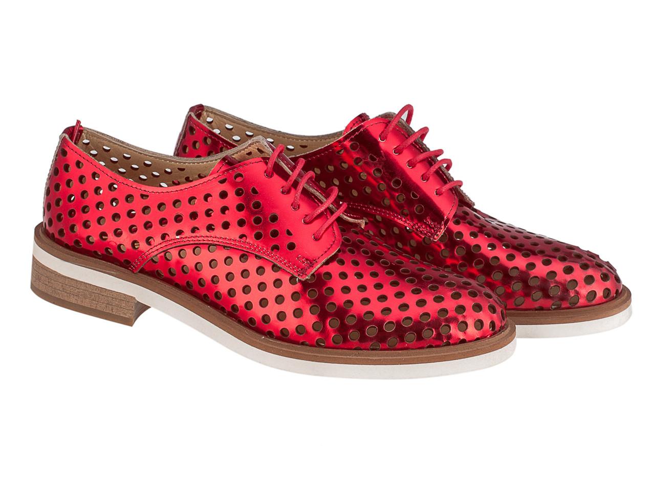 Туфли Etor 5890-10339 красные, фото 1