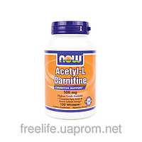 Ацетил-L-Карнитин (Acetyl-L Carnitine), 500 мг - 100 капсул