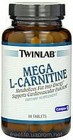 Купити карнітин, L-карнітин,Mega L-Carnitine 500mg (90 таблеток)