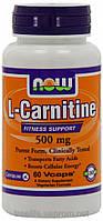 Жиросжигатели, L-карнитин,L-Carnitine Fitness Support 500mg (60 капсул)