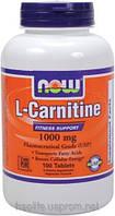 Купити карнітин, L-карнітин,L-Carnitine 1000mg (100 таблеток)