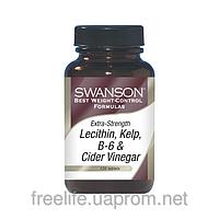 Комплекс для схуднення (ламінарія, яблучний оцет, лецитин)