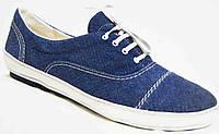 Туфли женские весна 40-44 джинс, женские туфли 40-44 от производителя модель МИ4047-4