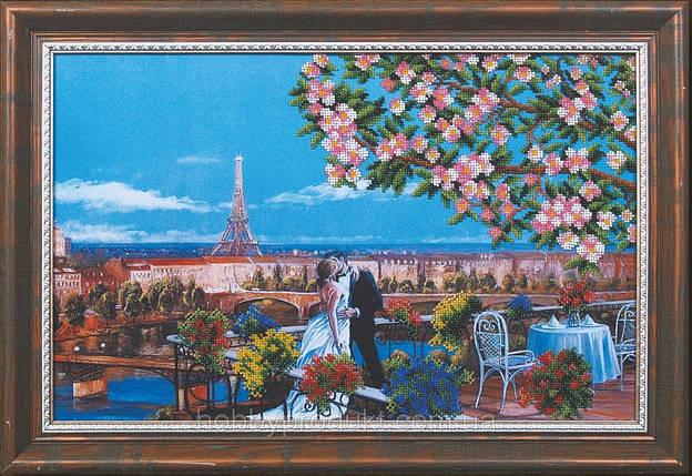 """Набор для вышивания бисером """"Парижский поцелуй"""", фото 2"""