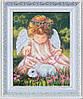 """Набор для вышивания бисером """"Ангел с кроликом"""""""
