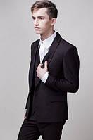 Пиджак мужской классический 2409 (Черный)