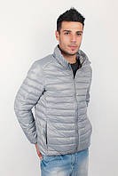 Куртка мужская дутая, осень 2016 №225KF047 (Стальной)
