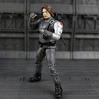 Коллекционная фигурка игрушка Зимний Солдат Первый Мститель: Другая Война Winter Soldier