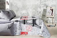 Набор Париж: постельное белье и одеяло летнее (Евро)