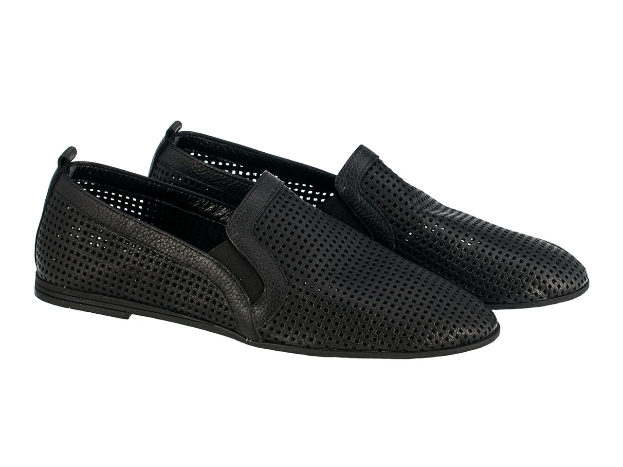 Балетки Etor 5922-7331 черные