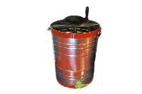 Медогонка 2-храмочная оцинкованная хордиальная с ручным приводом