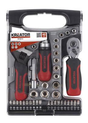 Набор ключей и отверток Kreator KRT500116 40 PCS