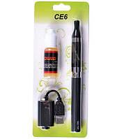 Электронная сигарета CE6 1100 мАч Black (EC-007)
